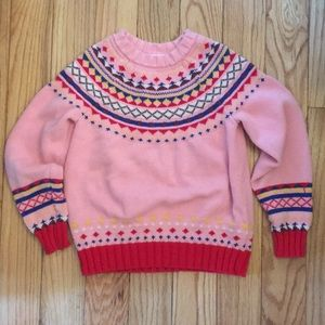 Hanna Andersson Fairilse Sweater-size 8